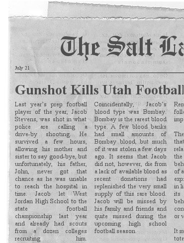 Gunshot Kills Utah Football Prodigy