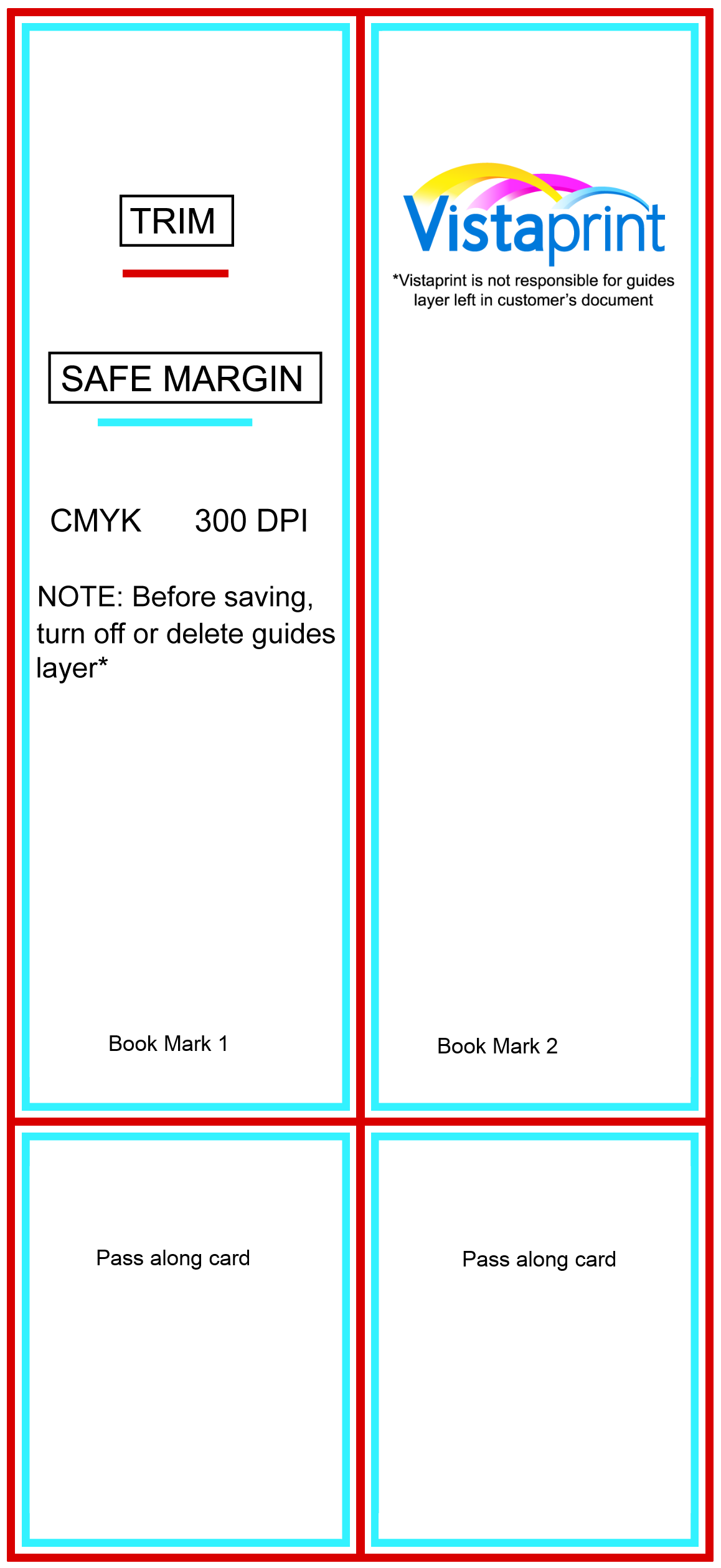 low cost bookmarks from vistaprint j abram barneck